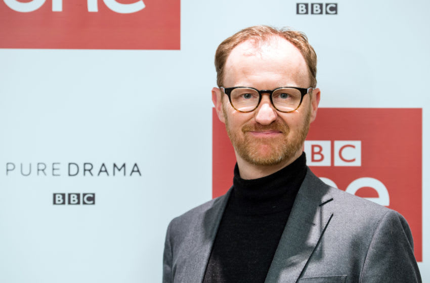 LONDON, ENGLAND - DECEMBER 19: Mark Gatiss attends a screening of the Sherlock 2016 Christmas Special at Ham Yard Hotel on December 19, 2016 in London, England. (Photo by Jeff Spicer/Getty Images)