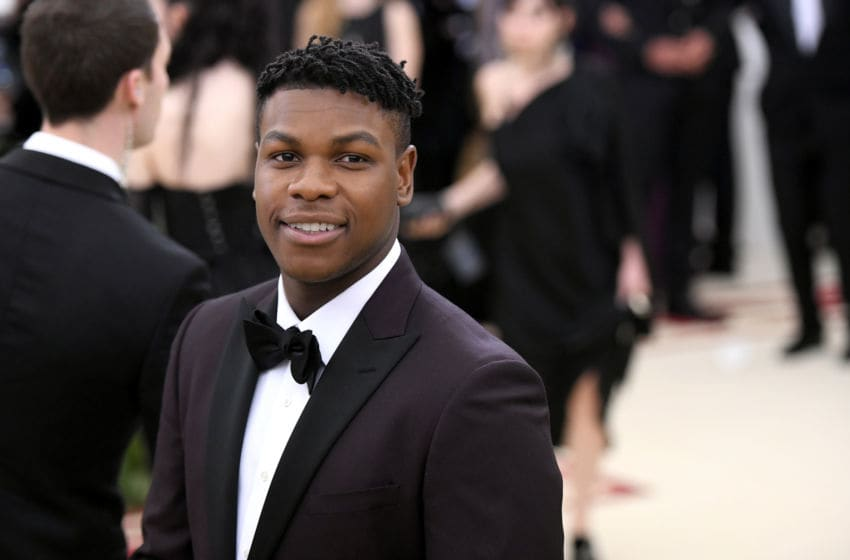 NEW YORK, NY - MAY 07: Actor John Boyega attends the Heavenly Bodies: Fashion & The Catholic Imagination Costume Institute Gala at The Metropolitan Museum of Art on May 7, 2018 in New York City. (Photo by Noam Galai/Getty Images for New York Magazine)