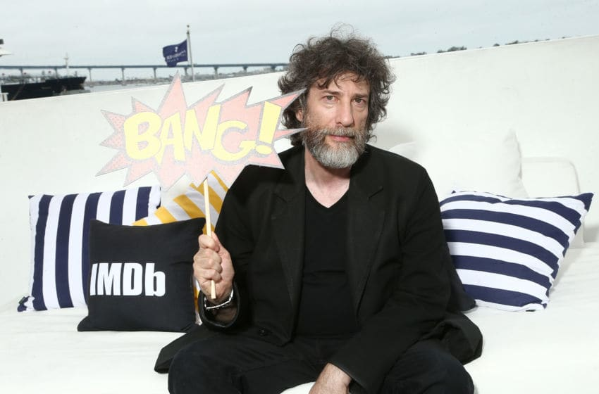 SAN DIEGO, CA - JULY 20: Showrunner Neil Gaiman attends the #IMDboat At San Diego Comic-Con 2018: Day Two at The IMDb Yacht on July 20, 2018 in San Diego, California. (Photo by Tommaso Boddi/Getty Images for IMDb)