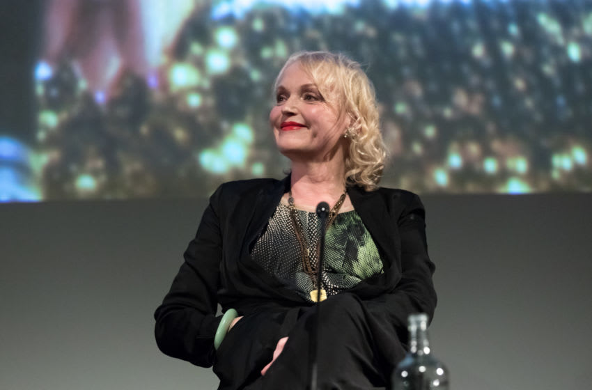 LONDON, ENGLAND - FEBRUARY 15: Actor Miranda Richardson attends a Q&A to mark the 25th anniversary of