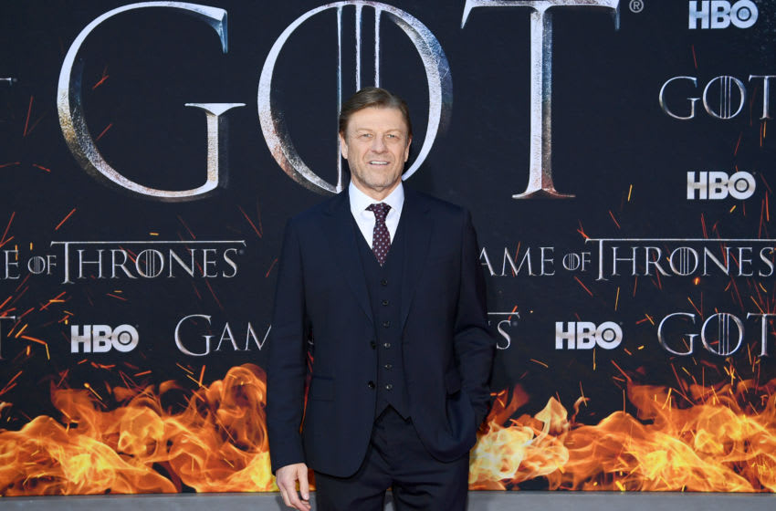 NEW YORK, NEW YORK - APRIL 03: Sean Bean attends the