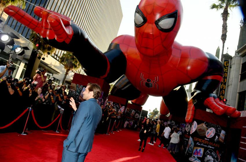 HOLLYWOOD, CALIFORNIE - 26 juin: Jake Gyllenhaal arrive à la première de Sony Pictures '