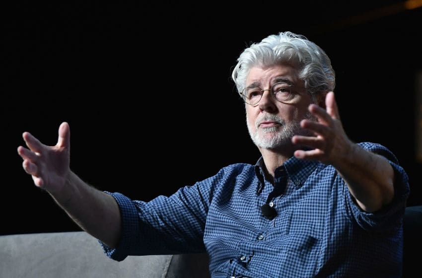 ORLANDO, FL - APRIL 13: George Lucas attends the Star Wars Celebration day 01 on April 13, 2017 in Orlando, Florida. (Photo by Gustavo Caballero/Getty Images)