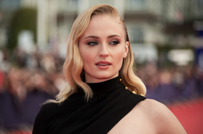 DEAUVILLE, FRANCE - SEPTEMBER 07: (EDITORS NOTE: image was processed with digital filters) Sophie Turner arrives the