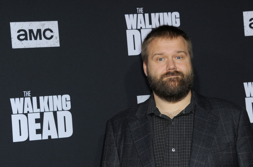 HOLLYWOOD, CA - SEPTEMBER 23: Robert Kirkman arrives for the Special Screening Of AMC's