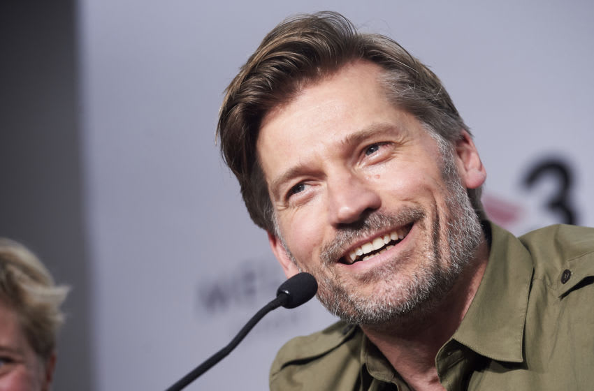 SITGES, SPAIN - OCTOBER 04: Actor Nikolaj Coster-Waldau during press conference of film 'Suicide Tourist' on October 04, 2019 in Sitges, Spain. (Photo by Borja B. Hojas/Getty Images)