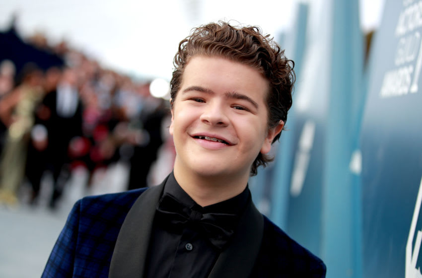 LOS ANGELES, CALIFORNIA - JANUARY 19: Gaten Matarazzo attends the 26th Annual Screen ActorsGuild Awards at The Shrine Auditorium on January 19, 2020 in Los Angeles, California. (Photo by Rich Fury/Getty Images)