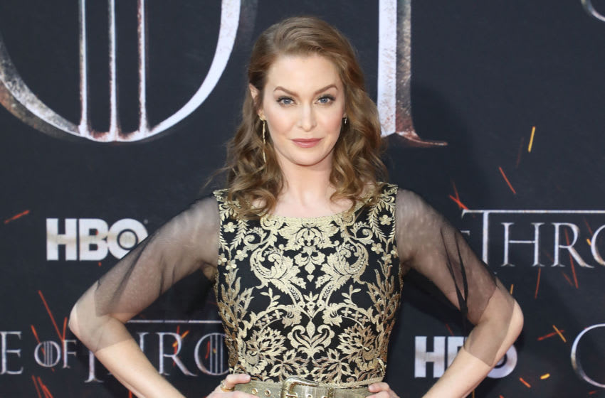 NEW YORK, NY - APRIL 03: Esme Bianco attends the Season 8 premiere of
