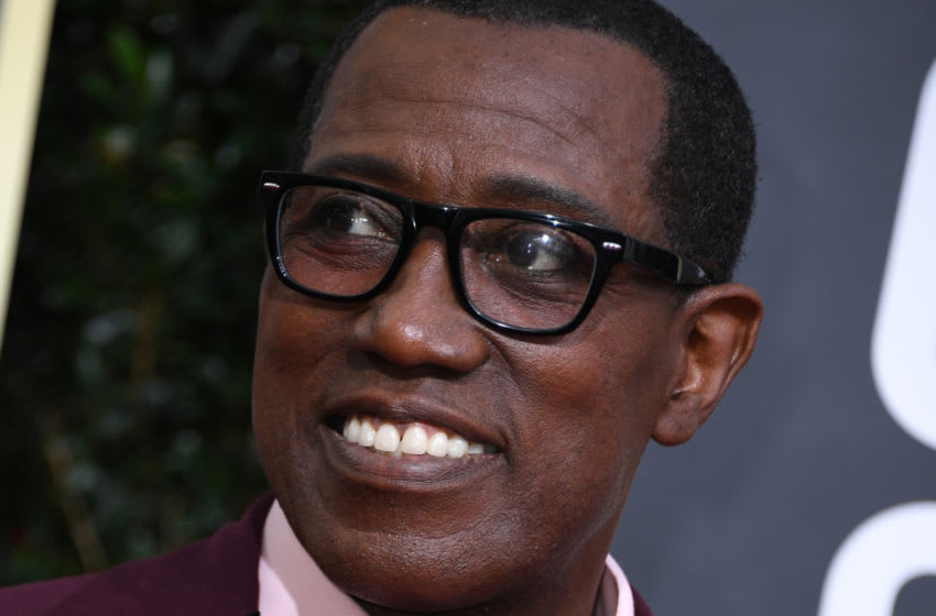 Actor Wesley Snipes arrives for the 77th annual Golden Globe Awards on January 5, 2020, at The Beverly Hilton hotel in Beverly Hills, California. (Photo by VALERIE MACON / AFP) (Photo by VALERIE MACON/AFP via Getty Images)