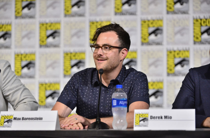 SAN DIEGO, CALIFORNIA - JULY 19: Max Borenstein speaks at The Terror: Infamy Panel Comic Con 2019 on July 19, 2019 in San Diego, California. (Photo by Jerod Harris/Getty Images for AMC)