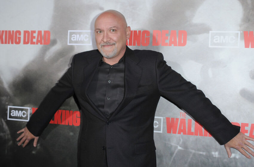 LOS ANGELES, CA - OCTOBER 26: Director Frank Darabont arrives at the Los Angeles premiere of AMC's