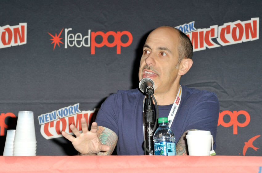 NEW YORK, NY - OCTOBER 13: Director David S. Goyer attends the 2012 New York Comic Con at the Javits Center on October 13, 2012 in New York City. (Photo by Daniel Zuchnik/Getty Images)