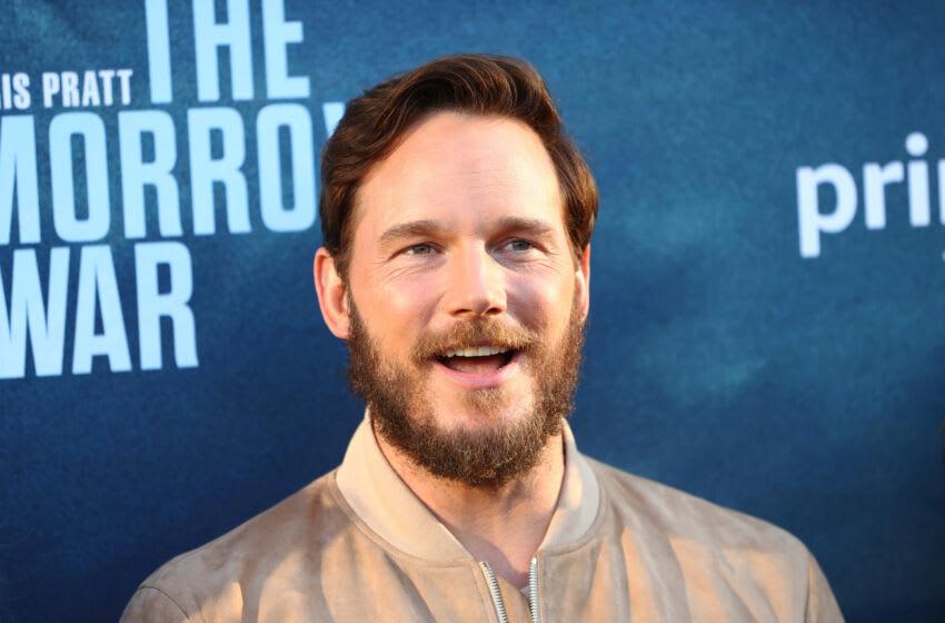 LOS ANGELES, CALIFORNIA - JUNE 30: Chris Pratt attends the premiere of Amazon's