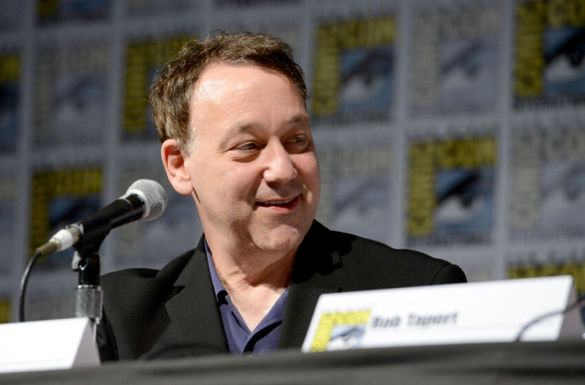 SAN DIEGO, CA - JULY 23: Director Sam Raimi speaks on stage during the