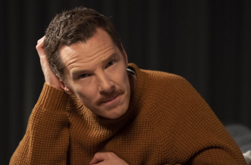 Nov 2, 2018; New York, NY, USA; Portrait of Benedict Cumberbatch, who voices the Grinch in the new Grinch project. He has a new, more sensitive take on the classic Christmas villain. He even says