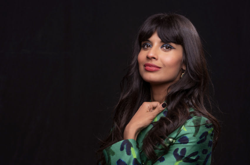 Oct 4, 2019; New York, NY, USA; Portrait of Jameela Jamil who talks about her new TBS game show