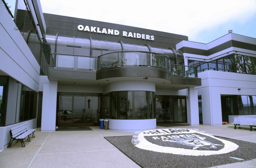 May 13, 2016; Alameda, CA, USA; General view of the Oakland Raiders practice facility. Mandatory Credit: Kirby Lee-USA TODAY Sports