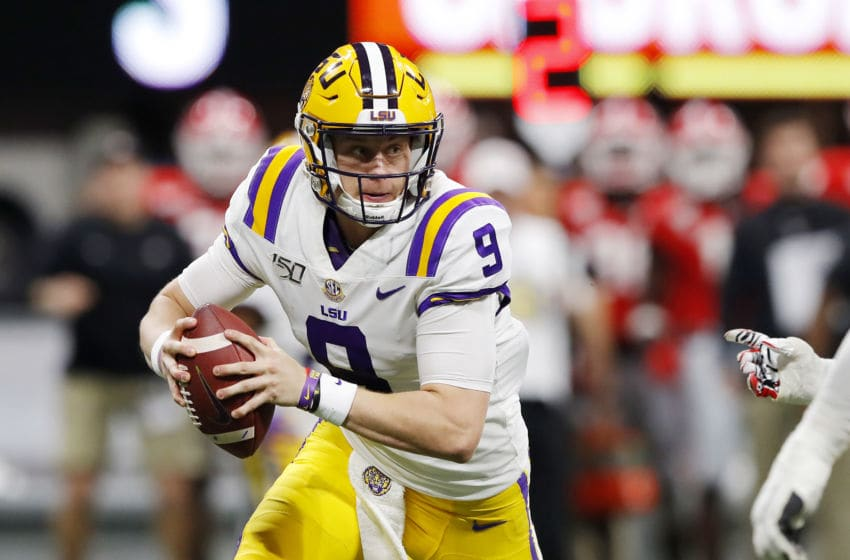 Joe Burrow LSU (Photo by Kevin C. Cox/Getty Images)
