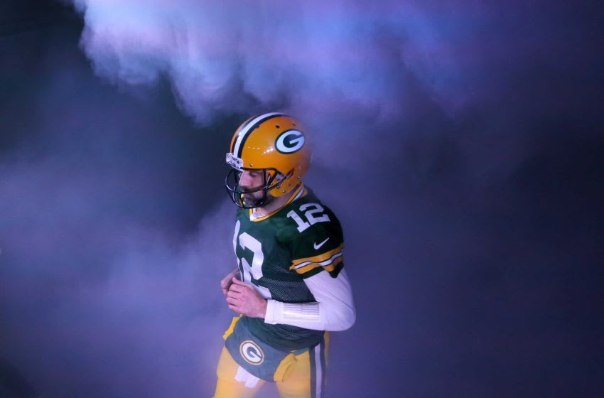 Packers quarterback Aaron Rodgers Usp Nfl Nfc Divisional Round Los Angeles Rams At S Fbn Usa Wi