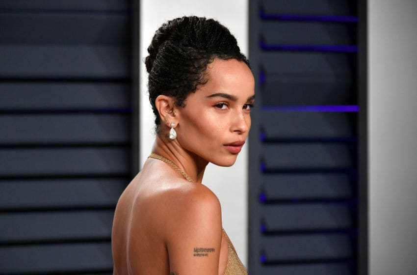 BEVERLY HILLS, CA - FEBRUARY 24: Zoe Kravitz attends the 2019 Vanity Fair Oscar Party hosted by Radhika Jones at Wallis Annenberg Center for the Performing Arts on February 24, 2019 in Beverly Hills, California. (Photo by Dia Dipasupil/Getty Images)