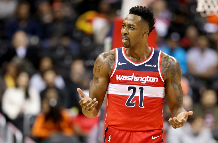 Washington Wizards Dwight Howard (Photo by Will Newton/Getty Images)
