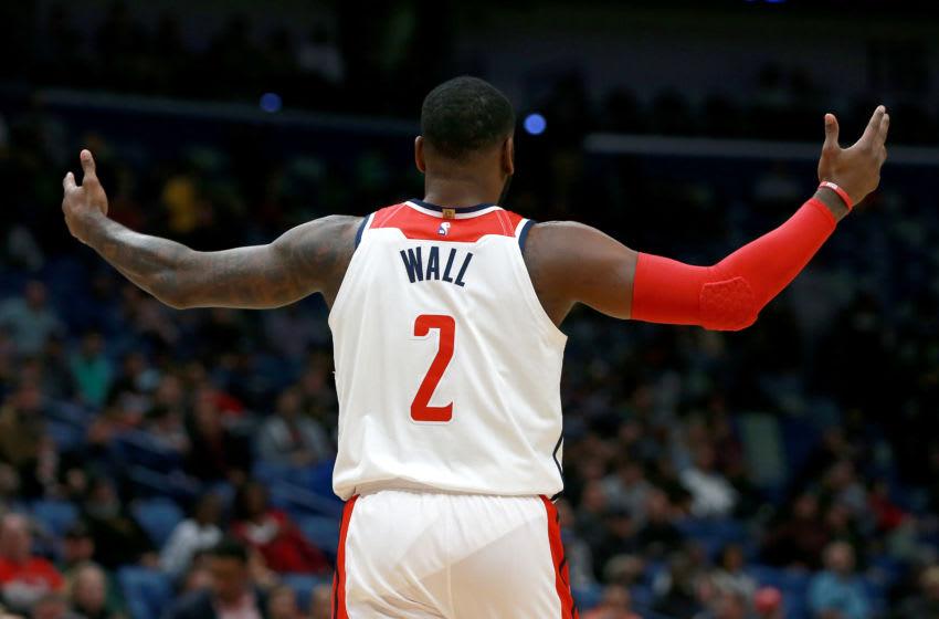 Washington Wizards John Wall. (Photo by Sean Gardner/Getty Images)
