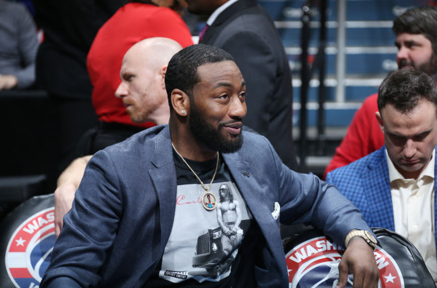 John Wall Washington Wizards (Photo by Stephen Gosling/NBAE via Getty Images)