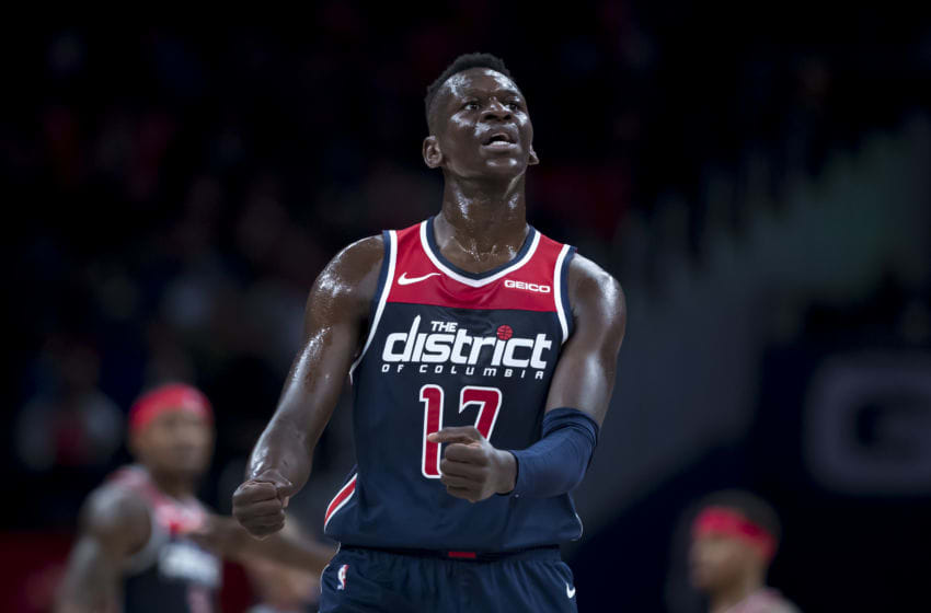 Washington Wizards Isaac Bonga (Photo by Scott Taetsch/Getty Images)