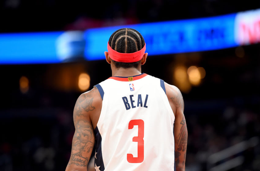Washington Wizards Bradley Beal (Photo by Will Newton/Getty Images)