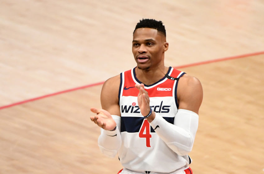 Washington Wizards Russell Westbrook. (Photo by Will Newton/Getty Images)