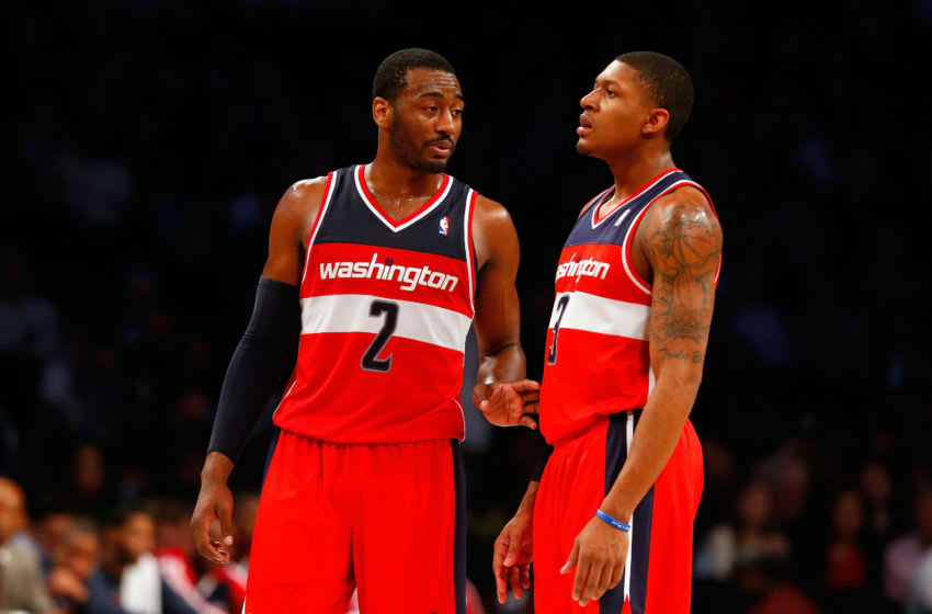 Washington Wizards John Wall Bradley Beal (Photo by Jim McIsaac/Getty Images)