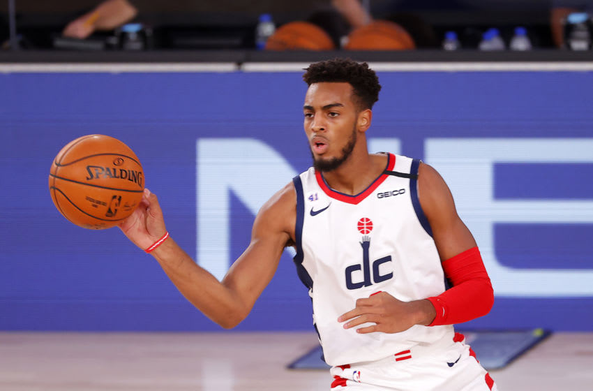 Troy Brown Jr. #6 of the Washington Wizards (Photo by Mike Ehrmann/Getty Images)