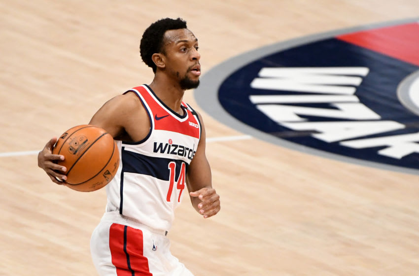 Ish Smith #14 of the Washington Wizards (Photo by Will Newton/Getty Images)