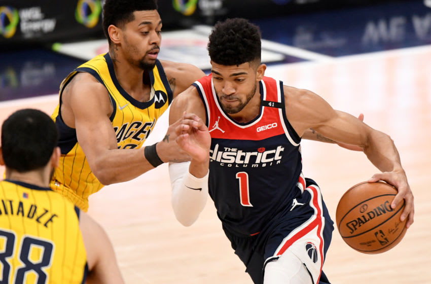 Chandler Hutchison #1 of the Washington Wizards (Photo by Will Newton/Getty Images)