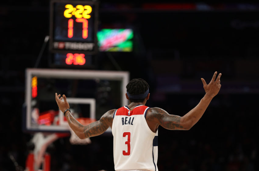 Washington Wizards Bradley Beal (Photo by Patrick Smith/Getty Images)