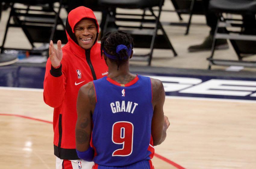 Washington Wizards Russell Westbrook. Mandatory Credit: Rob Carr/Pool Photo via USA TODAY Sports