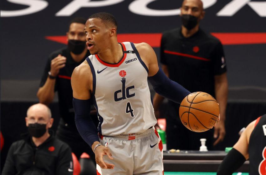 Washington Wizards Russell Westbrook. Mandatory Credit: Kim Klement-USA TODAY Sports