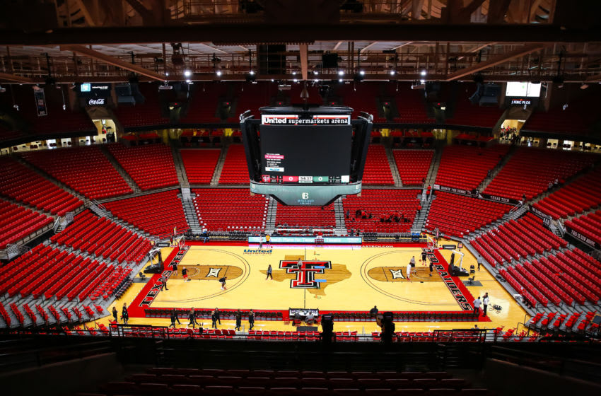 LUBBOCK, TEXAS - NOVEMBER 24: United Supermarkets Arena is pictured before the college basketball game against the LIU Sharks on November 24, 2019 in Lubbock, Texas. (Photo by John E. Moore III/Getty Images)