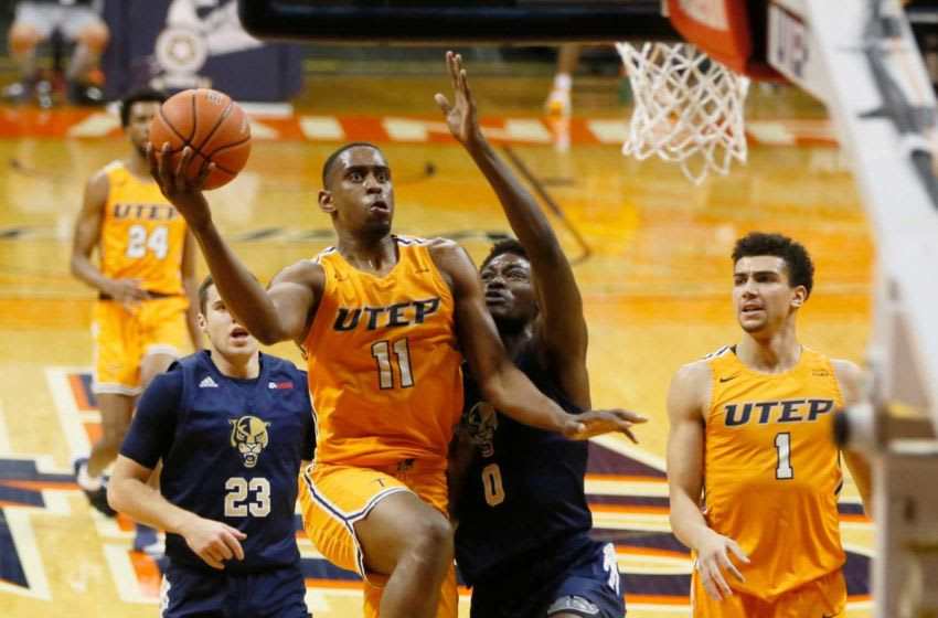 UTEP's Bryson Williams during the game against Florida International University Friday, Feb. 12, at the Don Haskins Center in El Paso. Utep Vs Fiu Mens Bball 003