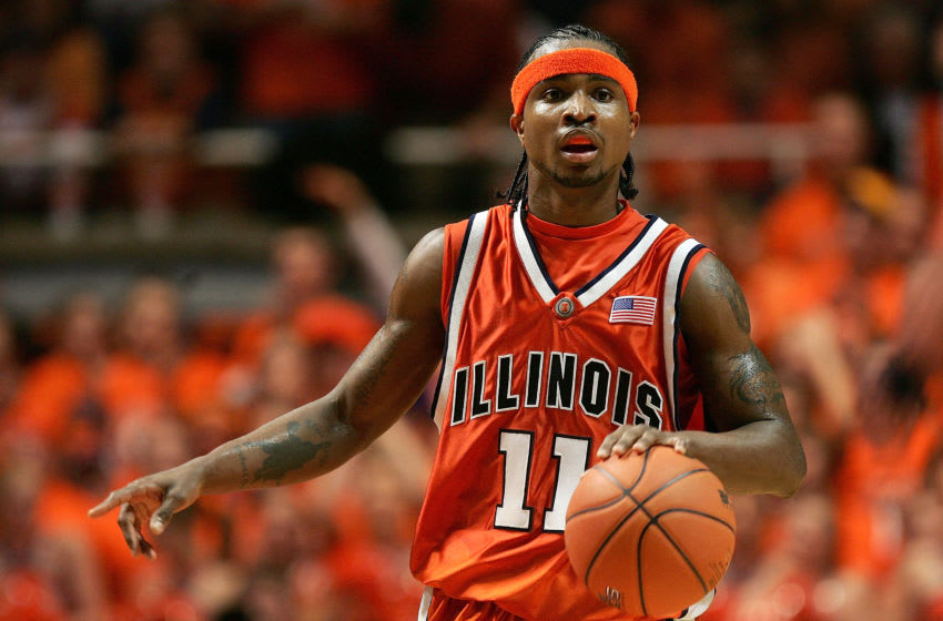 CHAMPAIGN, IL - JANUARY 05: Dee Brown