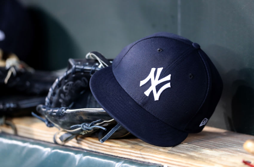 A New York Yankees hat (Photo by Rob Carr/Getty Images)