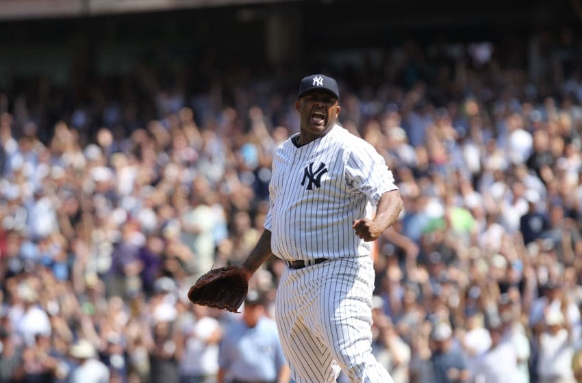 CC Sabathia of the New York Yankees (Photo by Nick Laham/Getty Images)