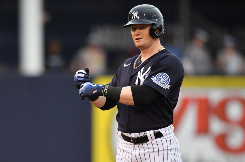 Clint Frazier of the New York Yankees (Photo by Mark Brown/Getty Images)