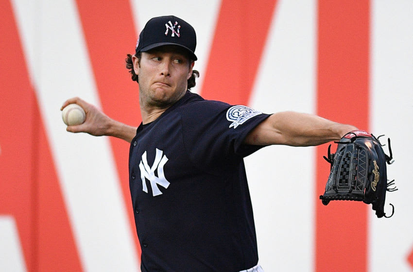 New York Yankees ace Gerrit Cole (Photo by Mark Brown/Getty Images)