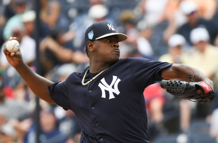 Luis Severino #40 of the New York Yankees (Photo by B51/Mark Brown/Getty Images)