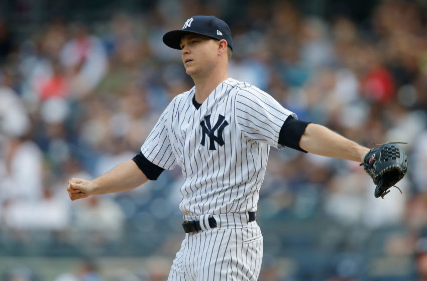 Sonny Gray #55 of the New York Yankees (Photo by Jim McIsaac/Getty Images)