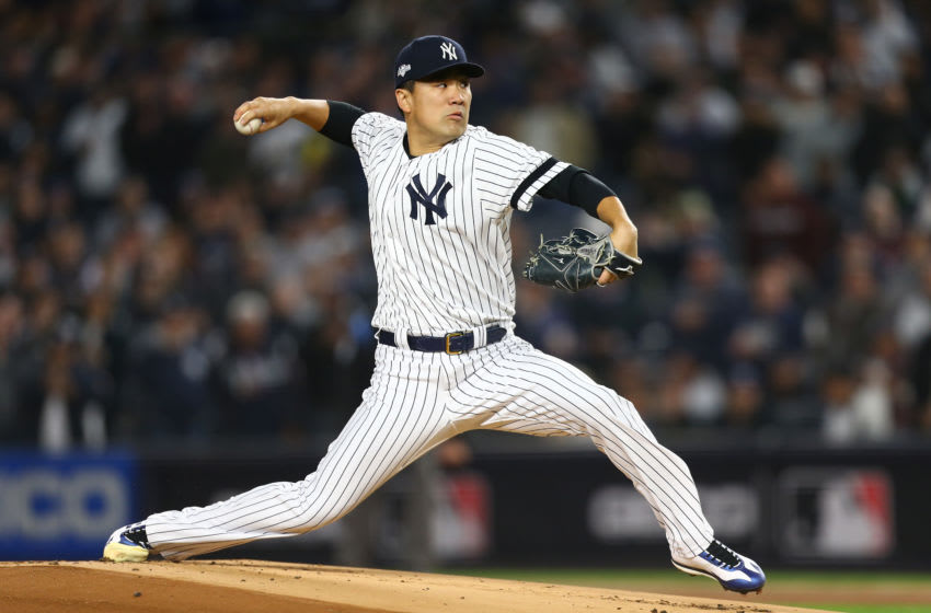 Masahiro Tanaka of the New York Yankees. (Photo by Mike Stobe/Getty Images)
