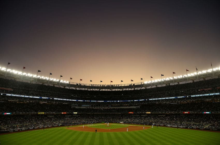 Yankee Stadium in the Bronx, home of the New York Yankees (Photo by Mike Stobe/Getty Images)