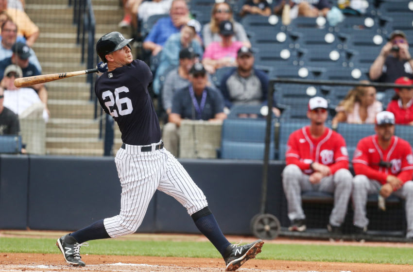 DJ LeMahieu at New York Yankees Spring Training (Photo by John Capella/Sports Imagery/Getty Images)