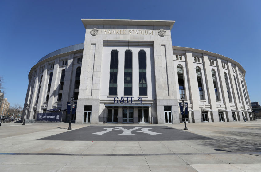 Yankee Stadium, standing alone (Photo by Al Bello/Getty Images)